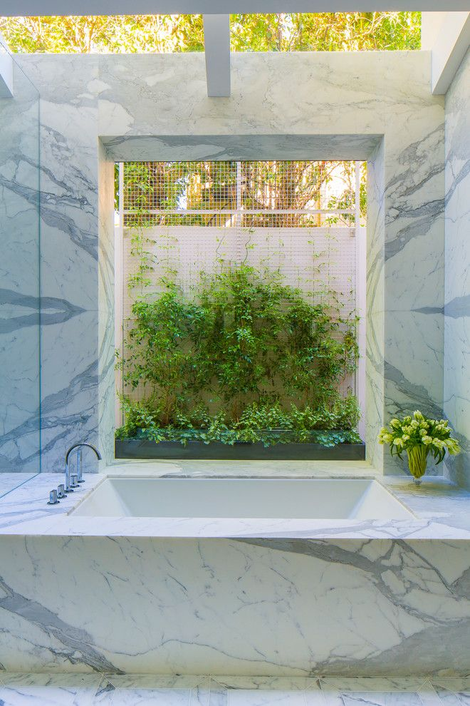 Ws Bath Collections for a Contemporary Bathroom with a Relaxing and La Mesa, Santa Monica, Ca. by Gordon Gibson Construction