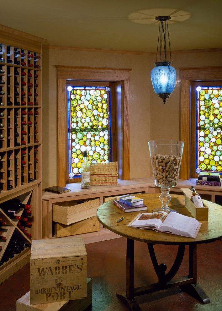 Www.sharpusa.com for a Traditional Wine Cellar with a Wine Storage and Spindrift by Siemasko + Verbridge