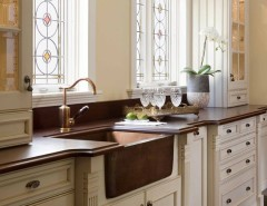 Yoiu for a Traditional Kitchen with a Pilaster and Chestnut Street Kitchen by Venegas and Company