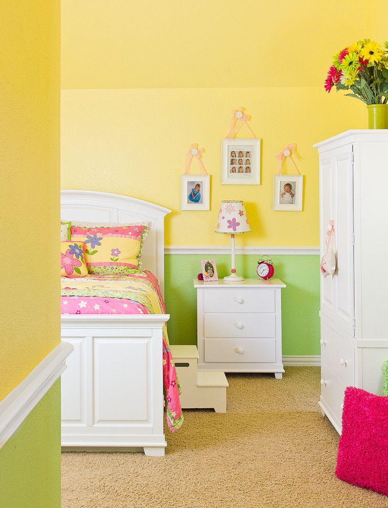 Youngs Furniture for a Contemporary Kids with a Yellow Wall and Portfolio by Jonathan Calvert | Interiors Photographer
