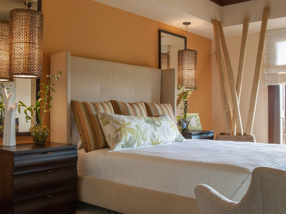 Zillow Henderson Nv for a Eclectic Bathroom with a Headboard and Vacation Villa, Hawaii by Henderson Design Group