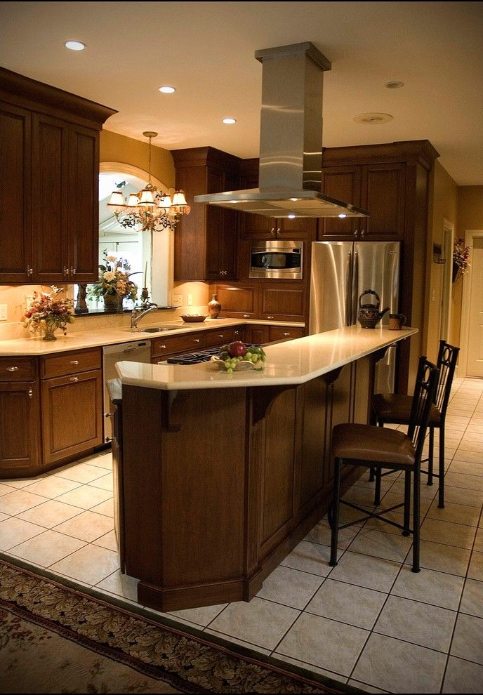 Zodiaq Quartz for a Traditional Kitchen with a Quartz Counter Tops and Blow   Zodiaq Quartz by Henry H. Ross & Son, Inc.