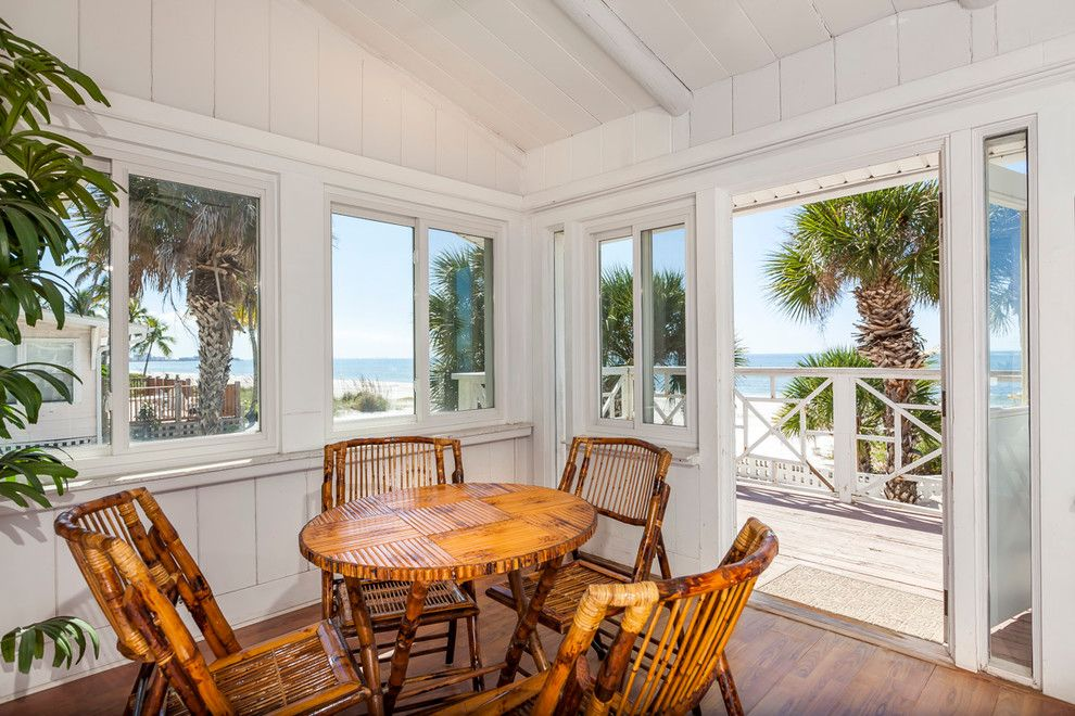 8z Real Estate for a Tropical Sunroom with a Bamboo Dining Set and Residential Real Estate by Ldr Real Estate Photography