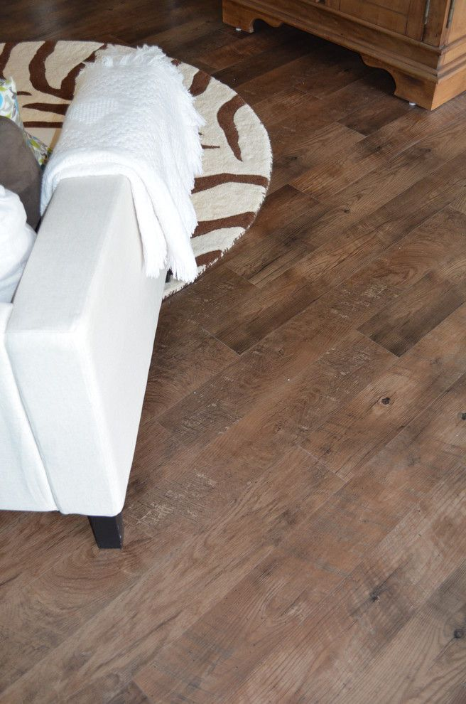 Adura for a Modern Living Room with a Luxury Vinyl Tile and Love It in Loveland, Oh by Carpetland Carpet One Floor & Home