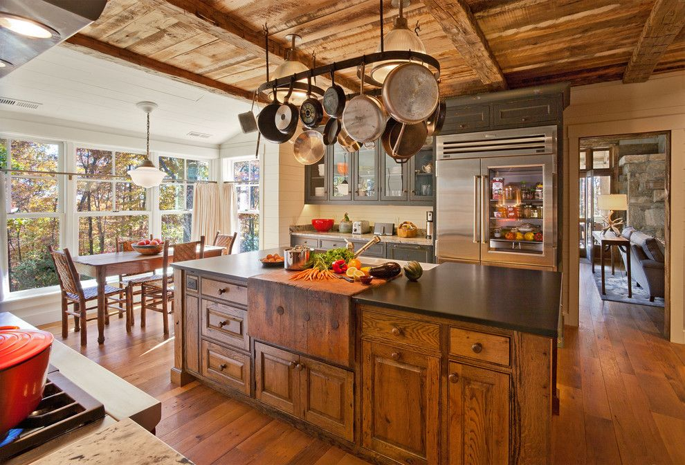 Best Buy Altoona Pa for a Rustic Kitchen with a Raised Panel Cabinets and Chestnut Hall by Platt Architecture, PA