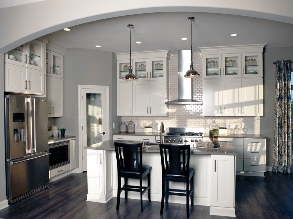 Bielinski Homes for a Transitional Kitchen with a Commercial and the Independence, Plan 2200   Kitchen by Bielinski Homes