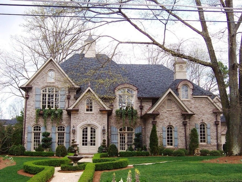 Boral Trim for a Traditional Exterior with a Gable Roofs and New Home Exteriors by Construction Innovations & Contracting