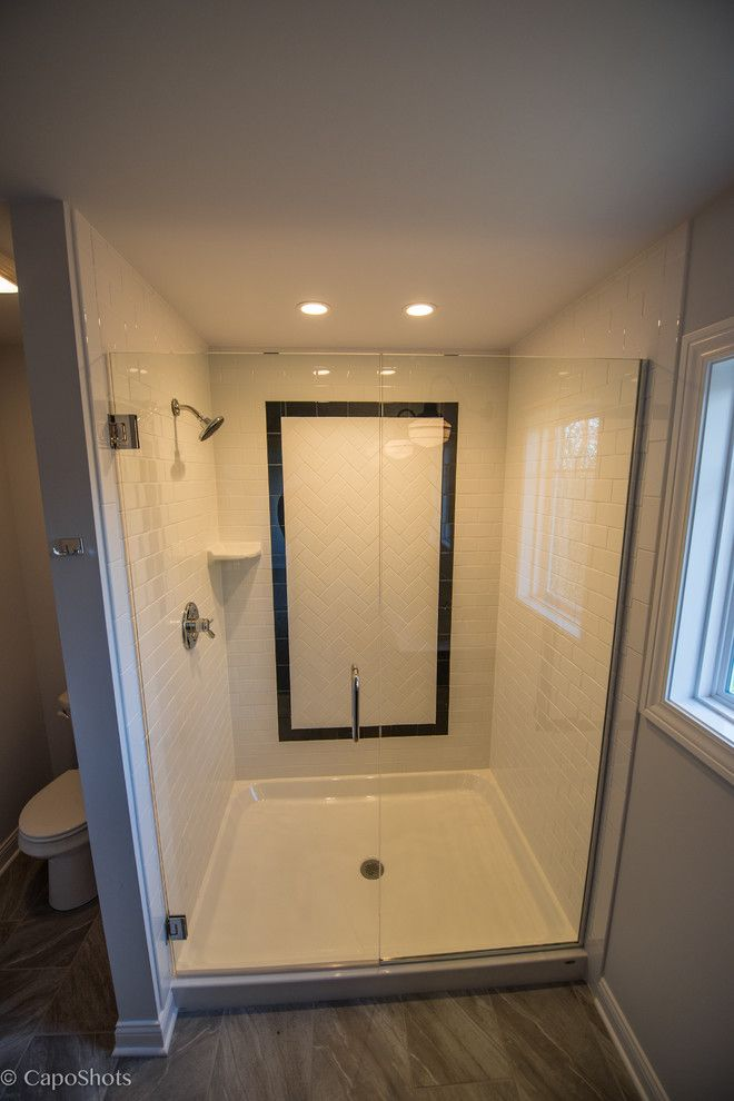 Charlie Steiner for a Craftsman Bathroom with a Valparaiso and the Charlie by Steiner Homes Ltd.
