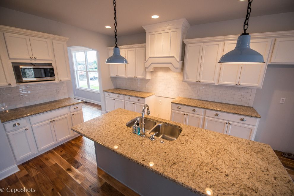 Charlie Steiner for a Craftsman Kitchen with a Sagamore and the Charlie by Steiner Homes Ltd.