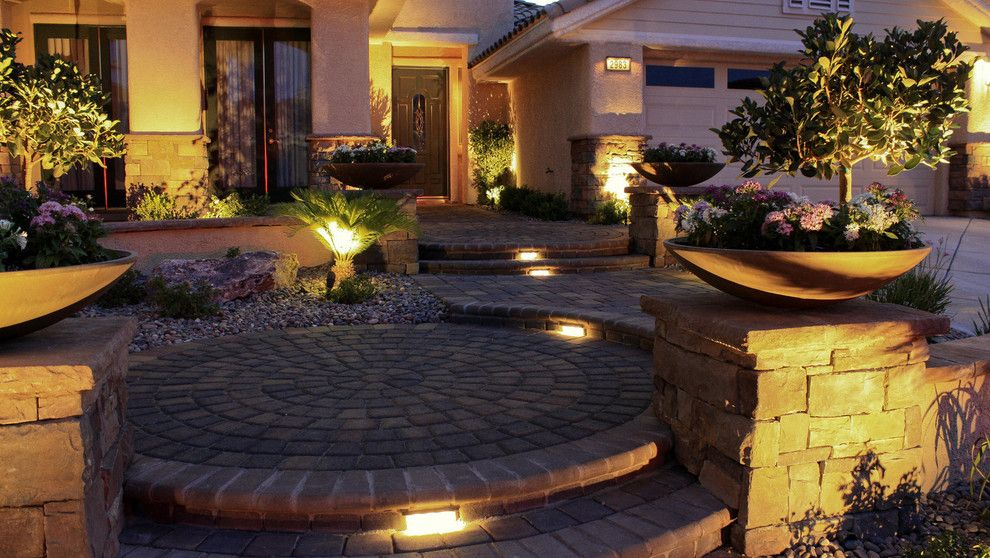 Chip and Dales for a Traditional Landscape with a Concrete Pavers and Paver Gallery by Chip N Dale's Custom Landscaping