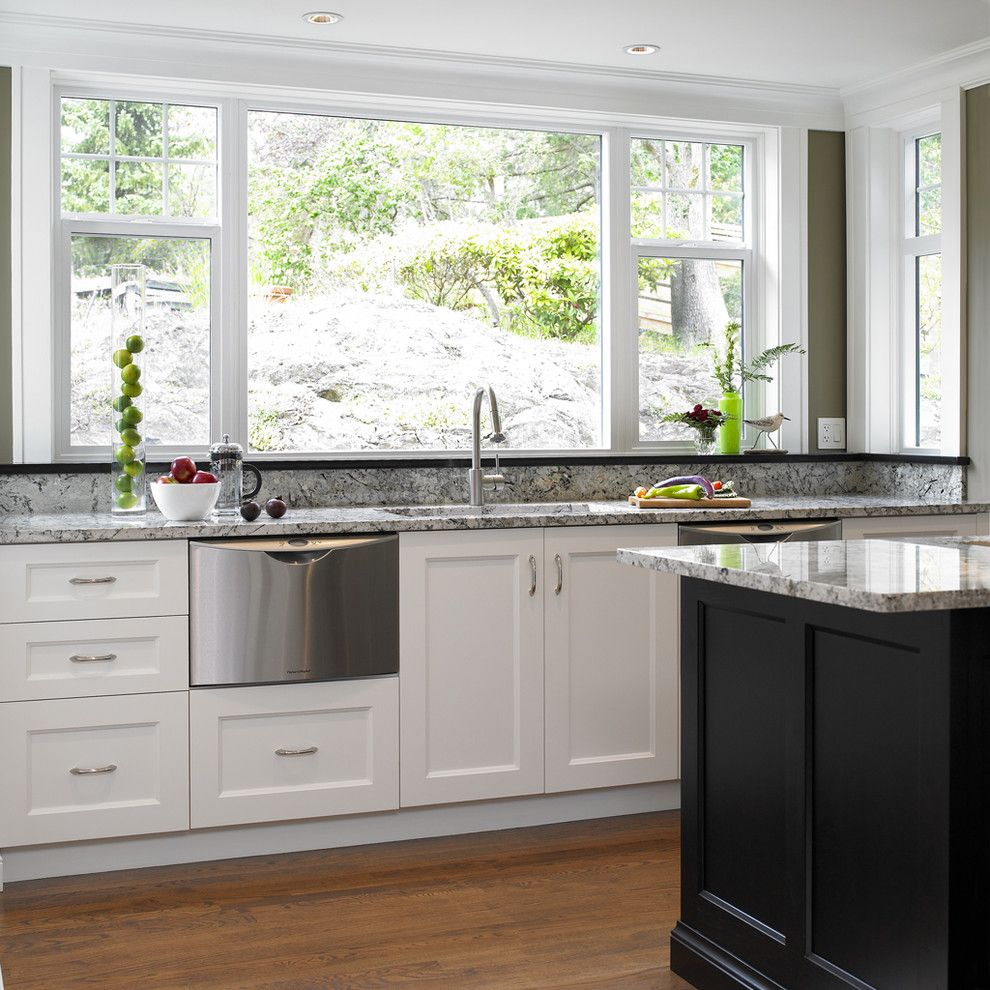 Clean Dishwasher Vinegar for a Transitional Kitchen with a Transitional and Tudor House by the Sky is the Limit Design