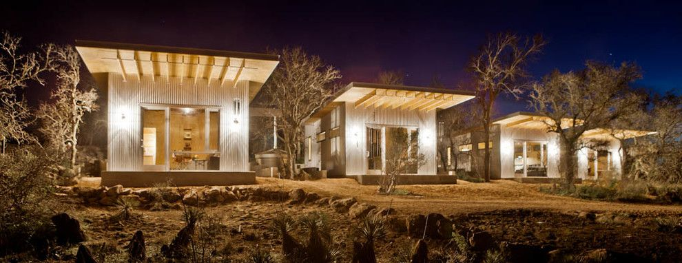 Conaway Homes for a Industrial Exterior with a Cabins and Industrial Exterior by Mattgarciadesign.com