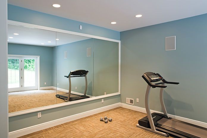 Durkan Carpet for a Traditional Home Gym with a White Trim and Traditional Classic Home by Copper Leaf Interior Design Studio