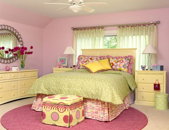 Durkan Carpet for a Traditional Kids with a Whimsical and Girl's Bedroom by Directions in Design, Inc.