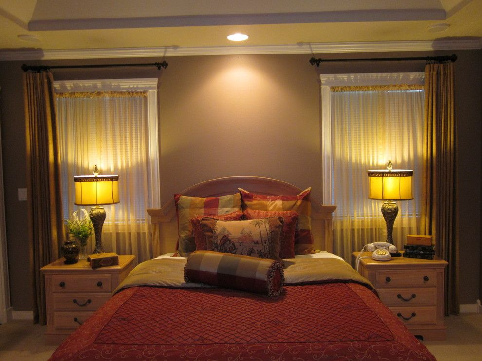 Ennis Furniture for a Traditional Bedroom with a Gold and Traditional Home by Kathy Boles Ennis Fine Furniture