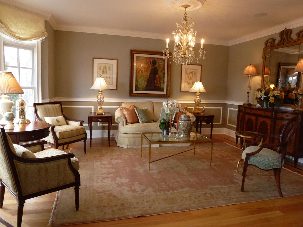 Ethan Allen Danbury Ct for a Traditional Living Room with a Formal ...