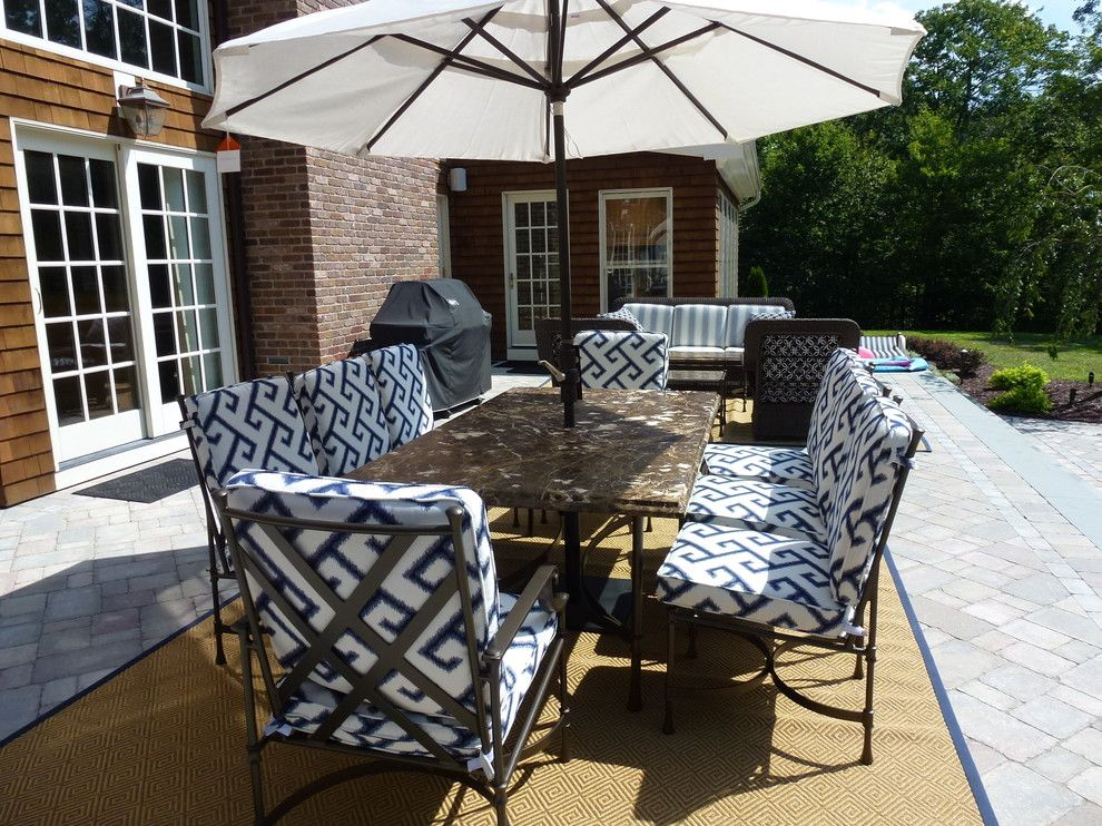 Ethan Allen Danbury Ct for a Traditional Patio with a Another View of the Patio Collaborativel and Patio, Easton, Ct by Allison Lee Ethan Allen Danbury, Ct