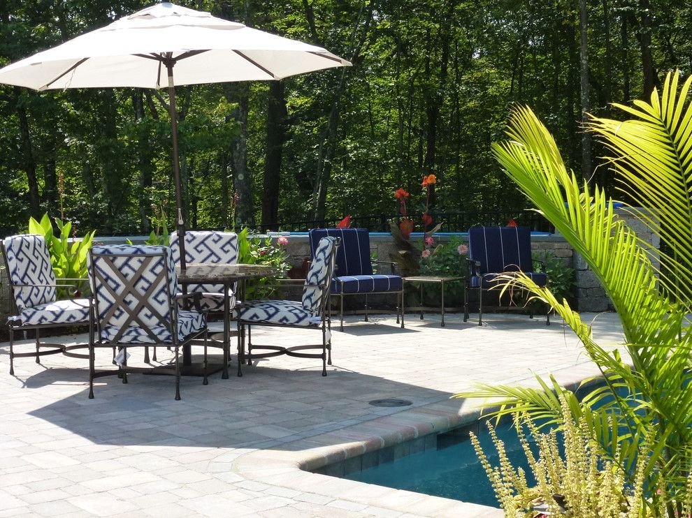 Ethan Allen Danbury Ct for a Traditional Patio with a Pool Area Collaboratively Designed by Al and Patio, Easton, Ct by Allison Lee Ethan Allen Danbury, Ct