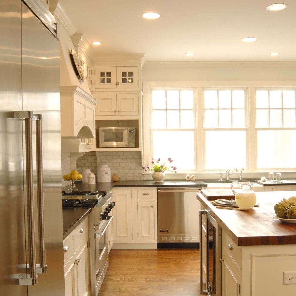Factory Direct Okc for a Traditional Kitchen with a New and Window View by the Kitchen Studio of Glen Ellyn