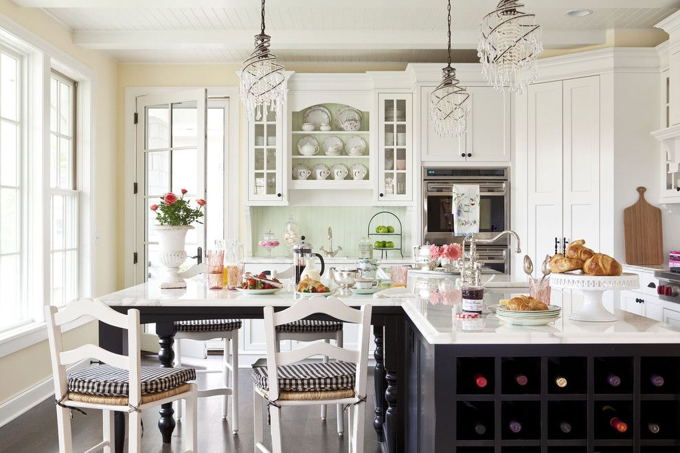 Factory Direct Okc for a Traditional Kitchen with a Sink and Sunnyside Road Residence Kitchen 4 by Martha O'hara Interiors