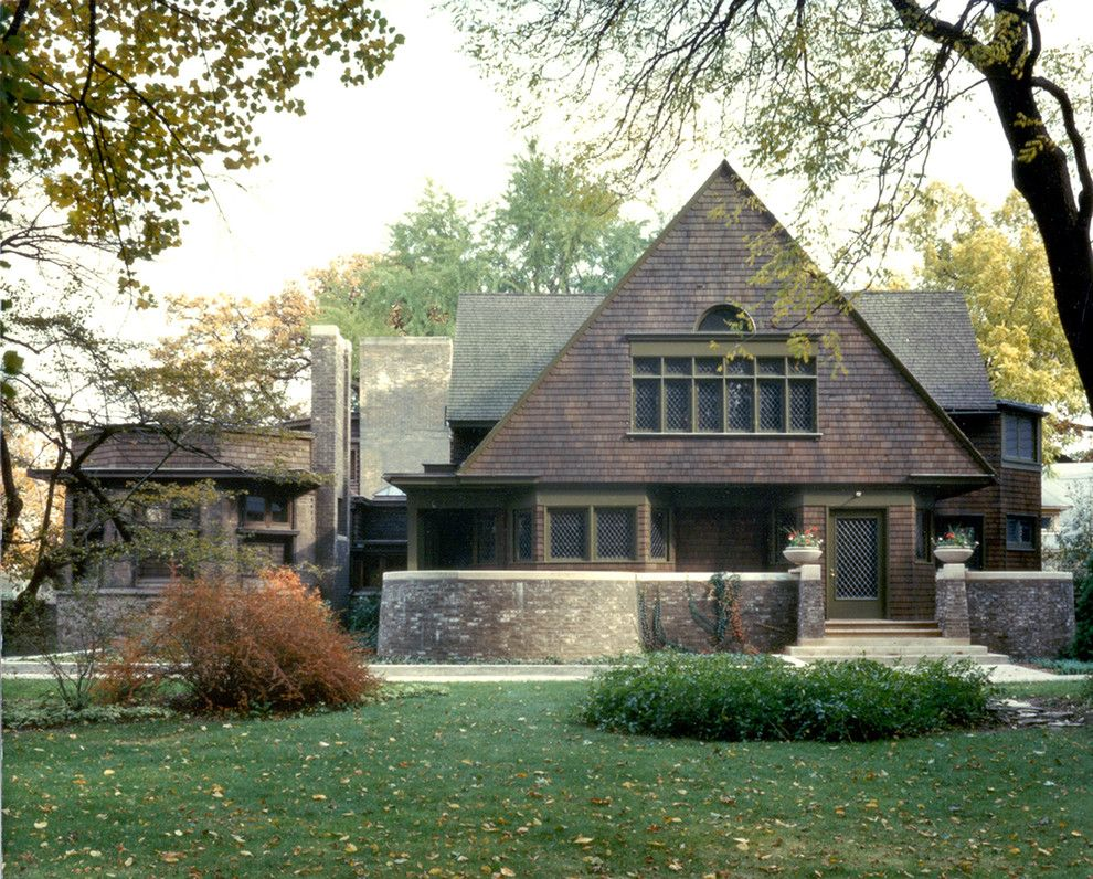 Frank Lloyd Wright Oak Park for a  Spaces with a Prairie Style and Wright Plus 2015 by Frank Lloyd Wright Trust
