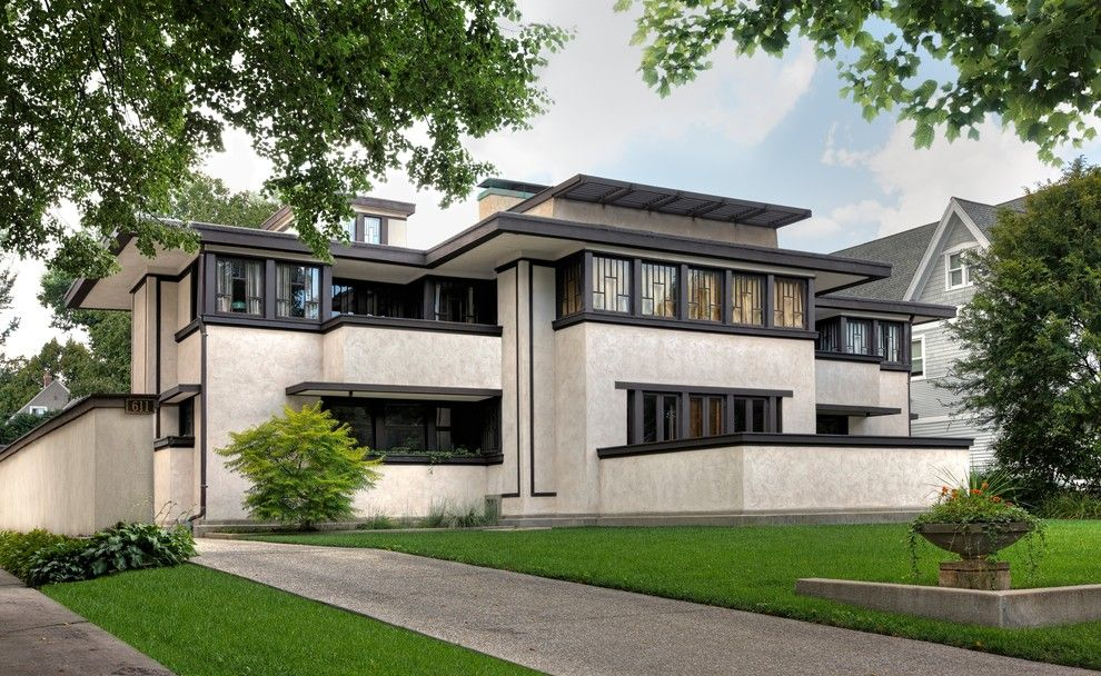 Frank Lloyd Wright Oak Park for a Traditional Spaces with a Oak Park and Wright Plus 2015 by Frank Lloyd Wright Trust