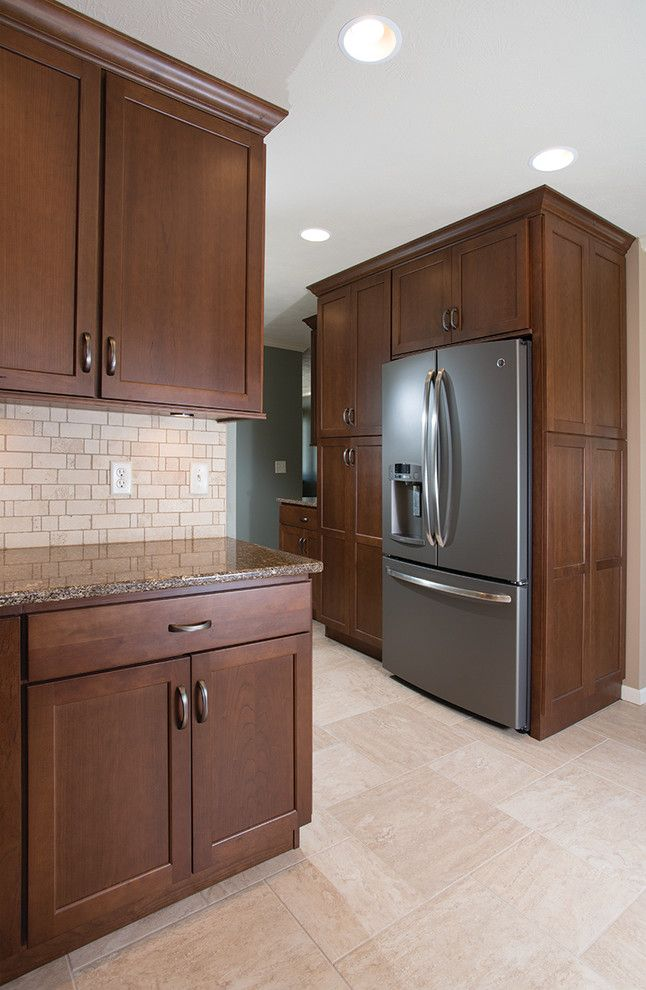 Furniture Mart Sioux Falls for a Traditional Kitchen with a Cabinetry and Kitchen Remodel in Southwest Sioux Falls, South Dakota by Today's Starmark Custom Cabinetry & Furniture