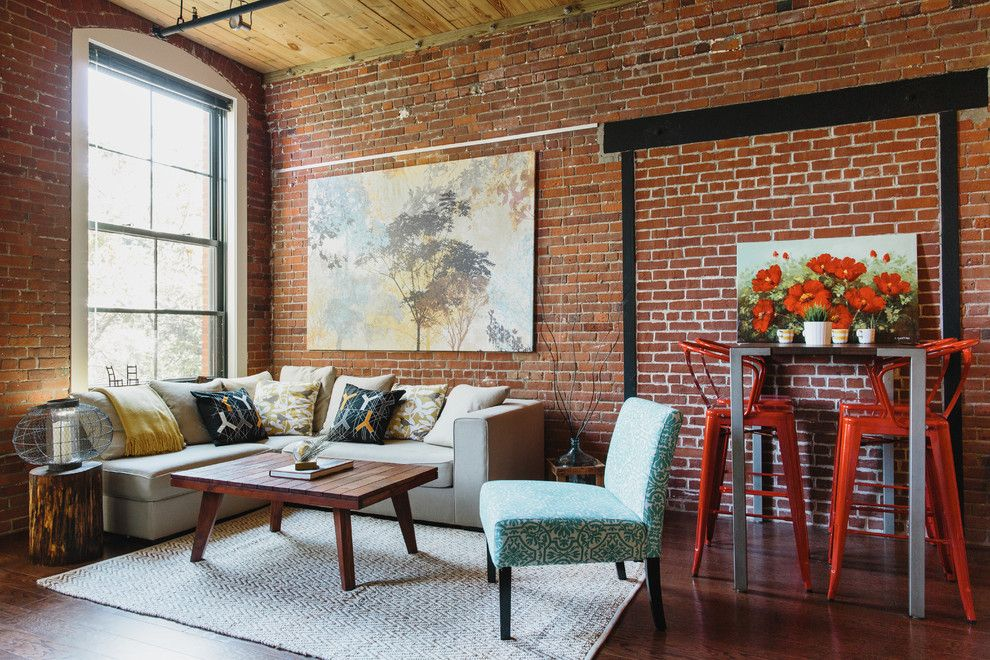 Golden West Billiards for a Industrial Living Room with a Industrial and Bright and Industrial Loft in Boston by Homepolish