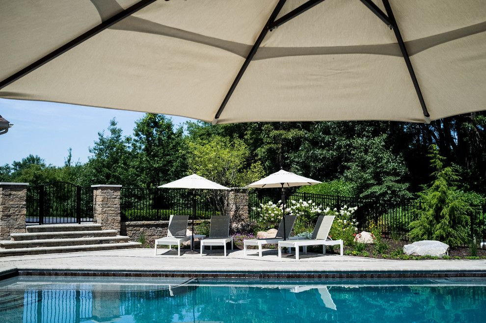 Haworth Holland Mi for a Traditional Pool with a Luxury Pools and Holland Residence by Meadowgreen Group