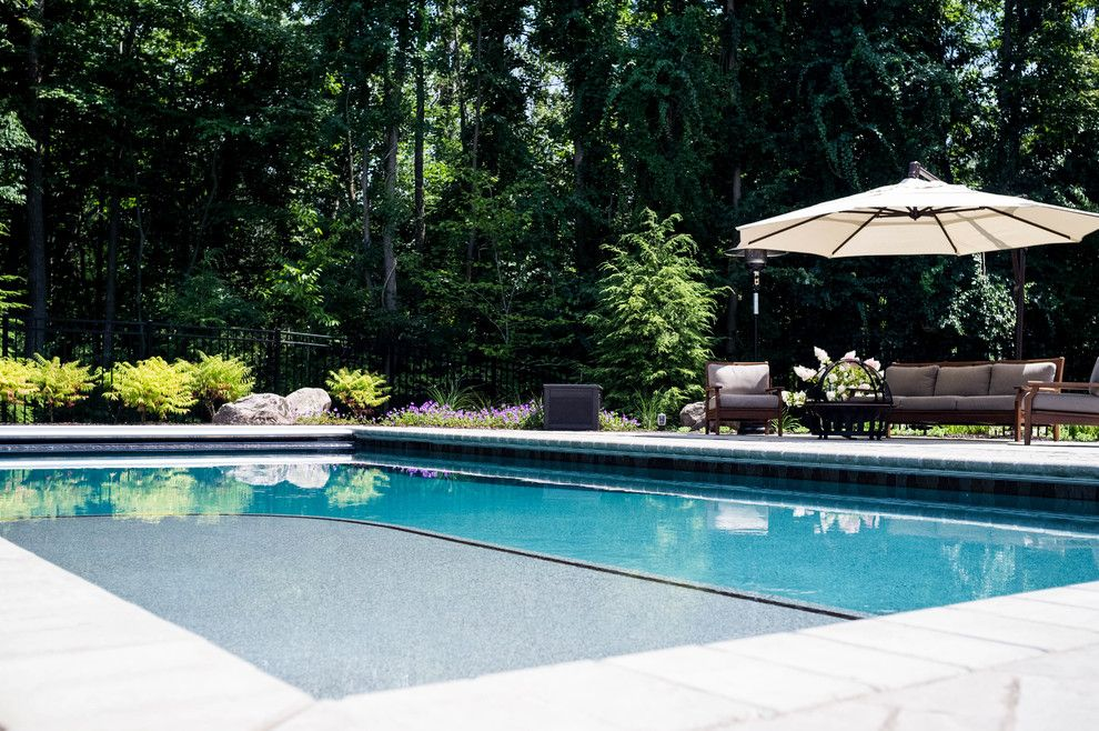 Haworth Holland Mi for a Traditional Pool with a Outdoor Kitchen and Holland Residence by Meadowgreen Group