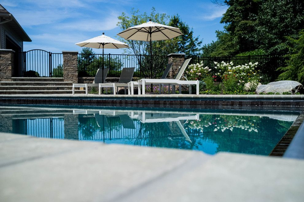 Haworth Holland Mi for a Traditional Pool with a Swimming Pool and Holland Residence by Meadowgreen Group