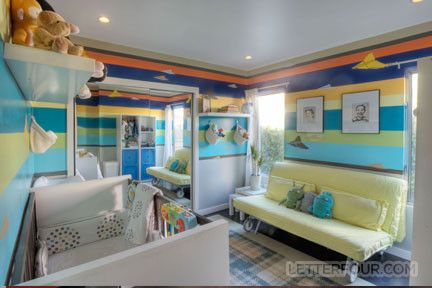 Helm Paint for a Modern Kids with a Modern and Helms Arts District Home by LETTER FOUR, LLC