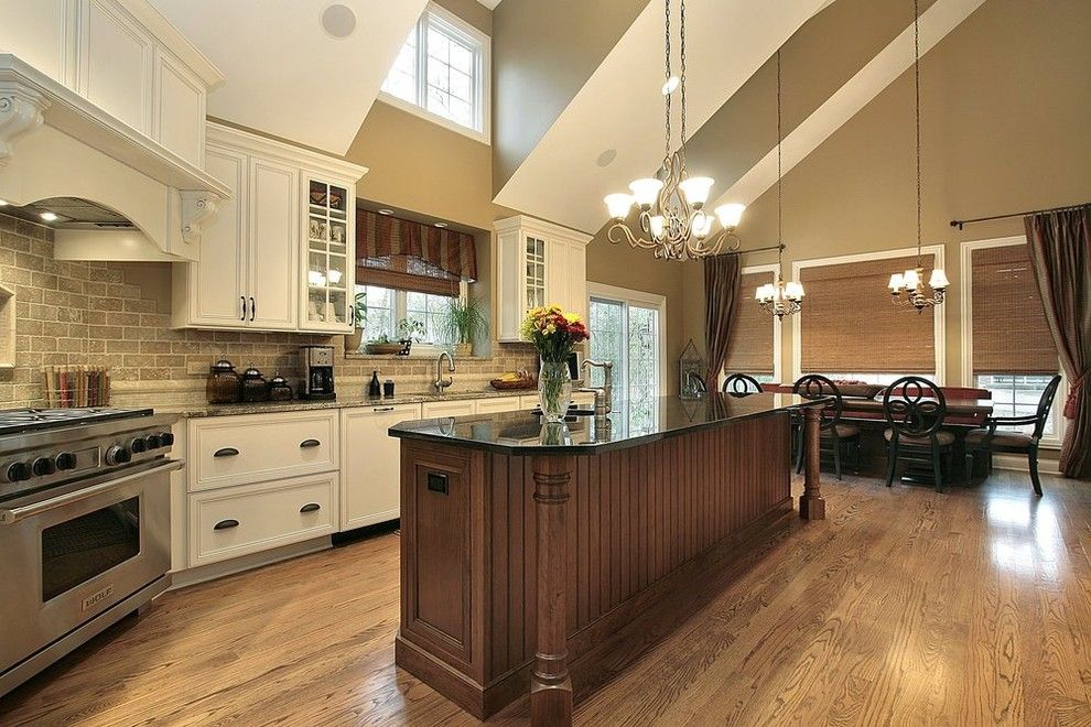 Home Depot Eden Prairie for a Traditional Kitchen with a Stainless Steel Appliances and Kitchen Remodel by Otm Designs & Remodeling Inc. by Otm Designs & Remodeling Inc.