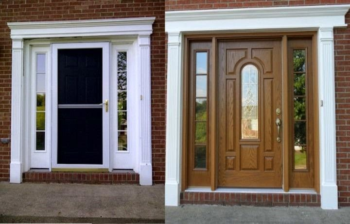 Home Depot Laurel Md for a Traditional Exterior with a Traditional and Provia Entry Doors by American Home Contractors (Laurel, Md)
