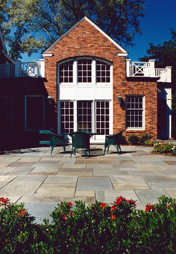 How to Build a Paver Patio for a Traditional Patio with a Traditional and Private Lane Residence by Wallant Architect