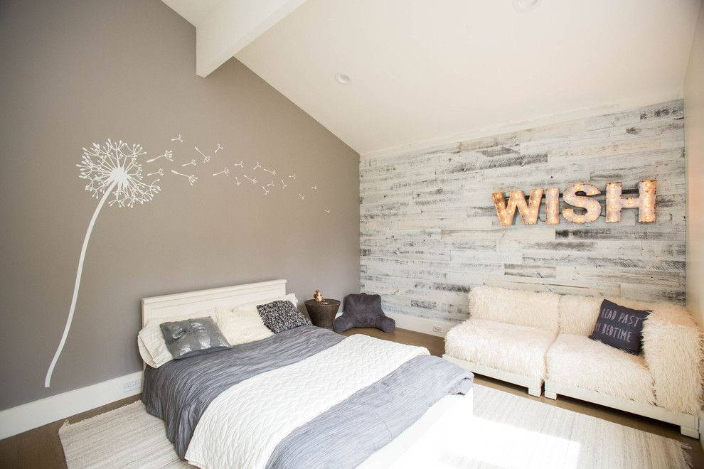 How to Whitewash Furniture for a Contemporary Bedroom with a Beige Wall and Forest Renovation by Riverstone Custom Builders