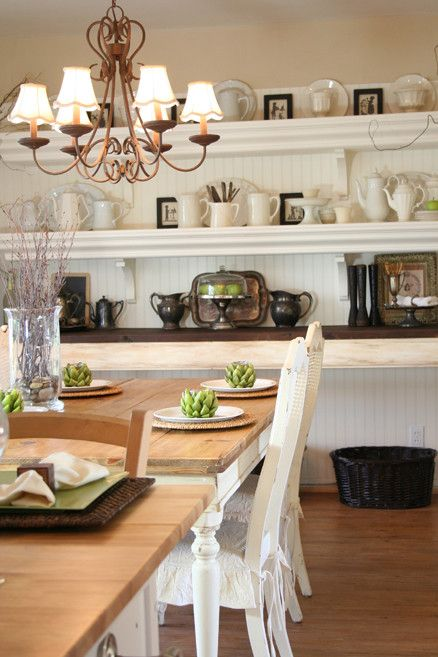 How to Whitewash Furniture for a Traditional Dining Room with a Silver and Custom Dining Room by Jennifer Grey Interiors