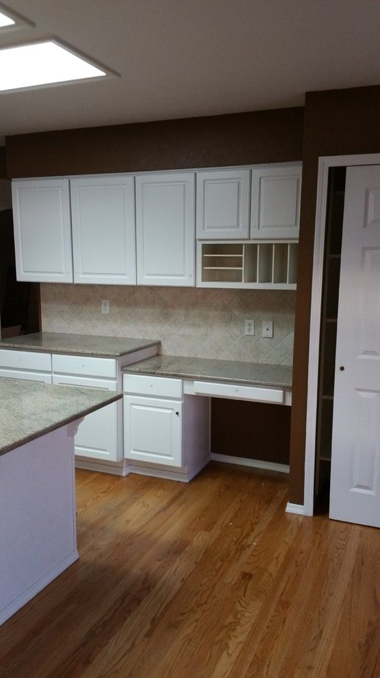 Jk Cabinets for a Transitional Spaces with a Kitchen Cabinets and Kitchen Transformation2 by JK Cabinets & Design