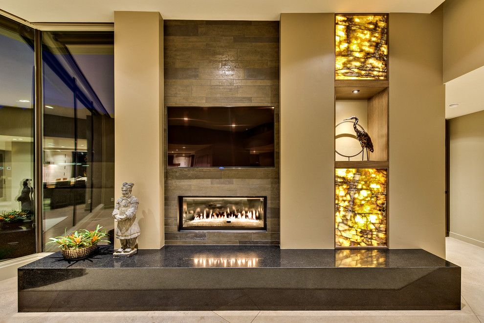 Kayenta Utah for a Modern Living Room with a Modern and Desert Illumination by Gulch Design Group   Kayenta Utah