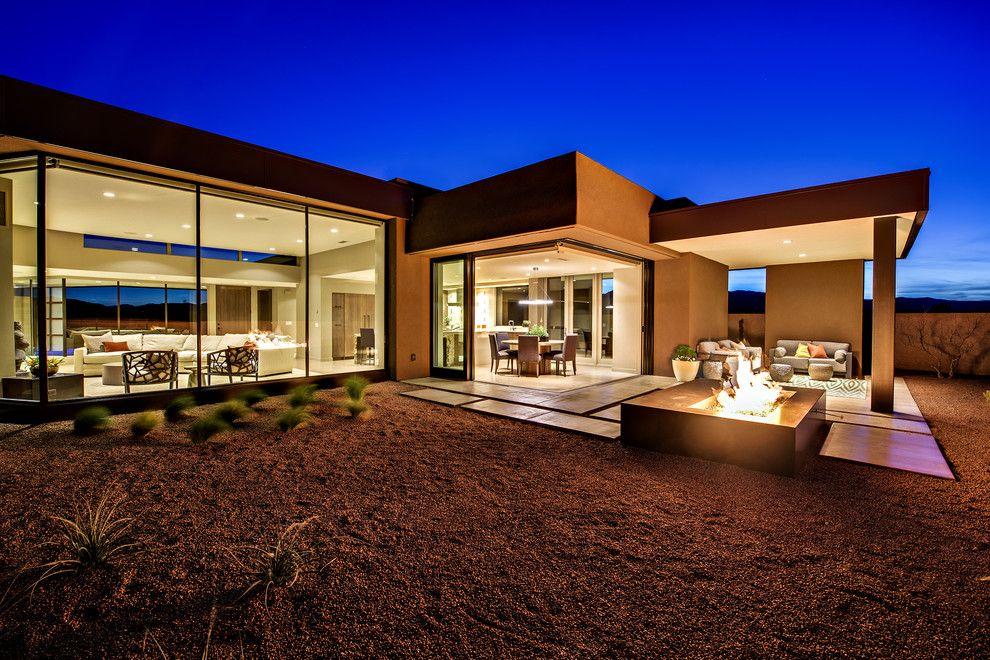 Kayenta Utah for a Modern Patio with a Modern and Desert Illumination by Gulch Design Group   Kayenta Utah