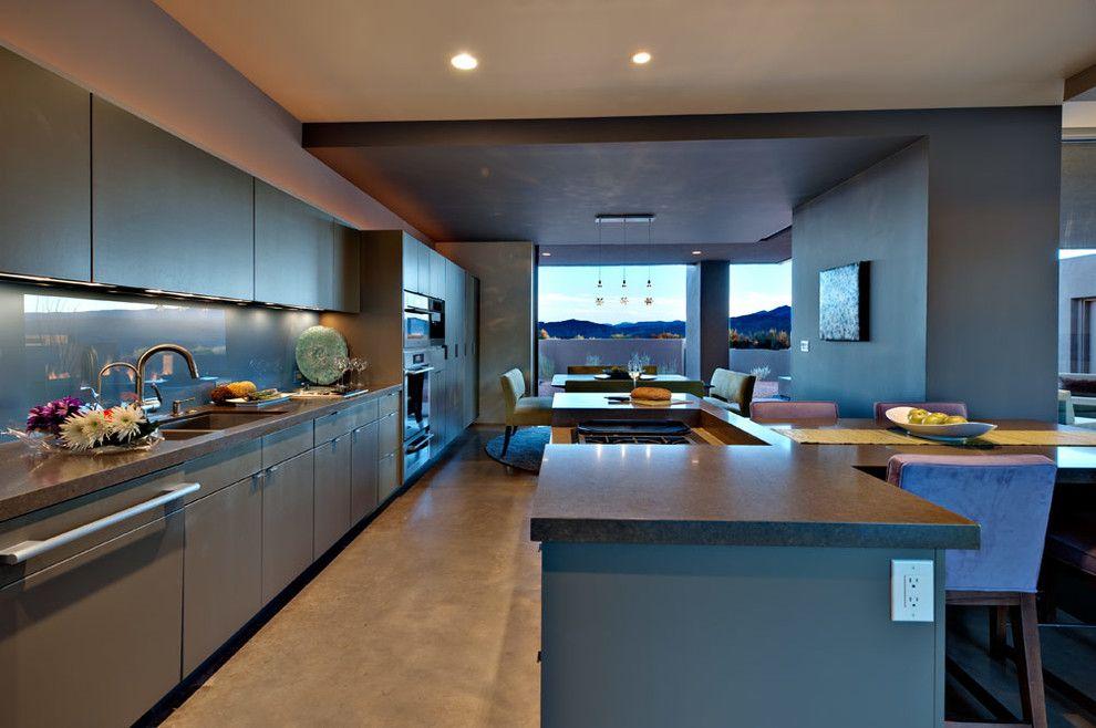 Kayenta Utah for a Southwestern Kitchen with a Southwestern and Desert Zen by Gulch Design Group   Kayenta Utah