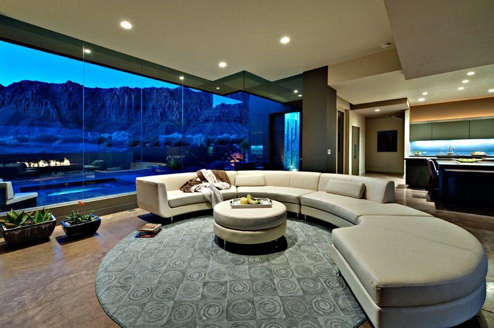 Kayenta Utah for a Southwestern Living Room with a Southwestern and Desert Zen by Gulch Design Group   Kayenta Utah