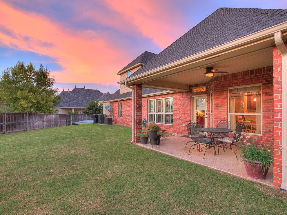 Keller Williams Okc for a Traditional Patio with a House and 13121 Box Canyon Rd Oklahoma City, Ok   Wyatt Poindexter Kw Elite by Wyatt Poindexter of Keller Williams Elite