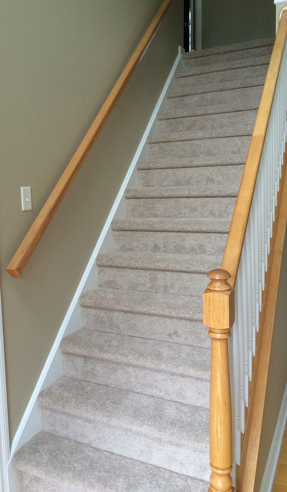 Kenny Carpets for a Contemporary Spaces with a Stain Resistant Carpet and Staircases by Kenny Carpets & Floors