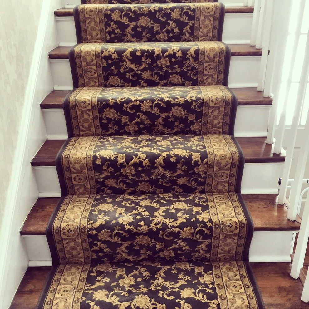Kenny Carpets for a  Staircase with a Stair Carpet and New Project by Kenny Carpets & Floors
