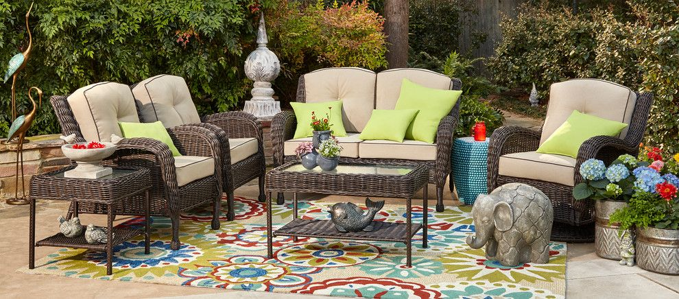 Lazar Furniture for a Contemporary Patio with a Contemporary and at Home Stores by at Home Stores