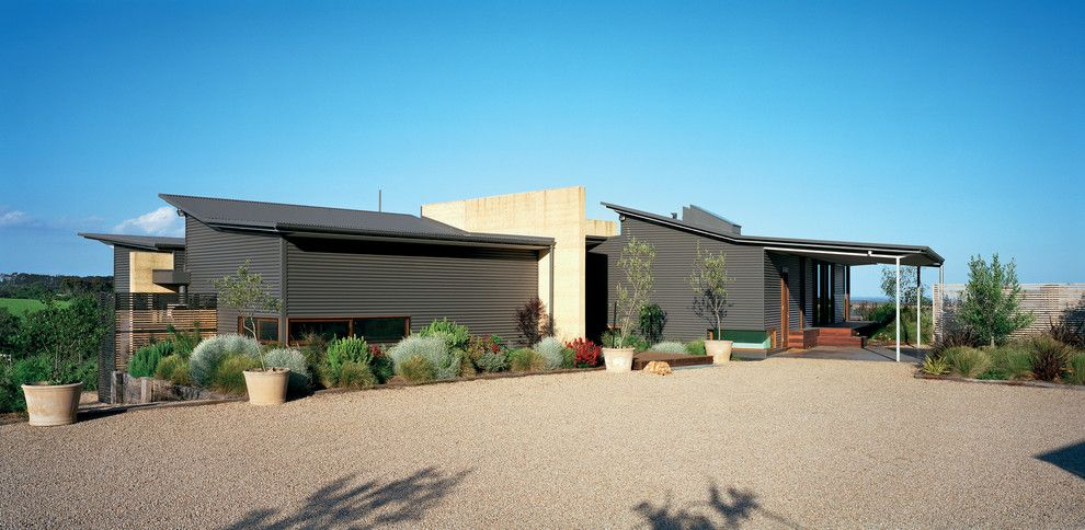 Lennox Parts Plus for a Contemporary Exterior with a Entry and Hill House by Mihaly Slocombe