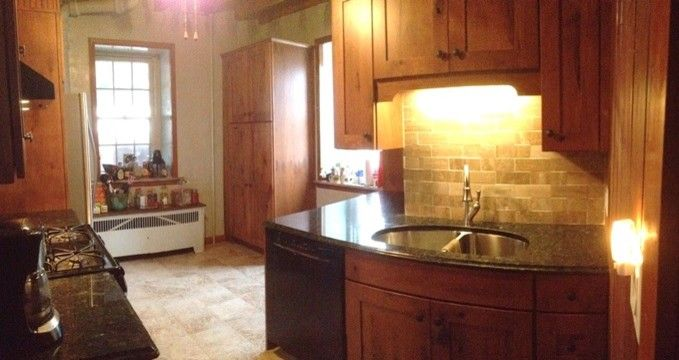 Lowes Langhorne Pa for a Rustic Kitchen with a Travertine Tile and Kitchen Remodel 10   Hamburg, Pa by Lowe's of Hamburg, Pa