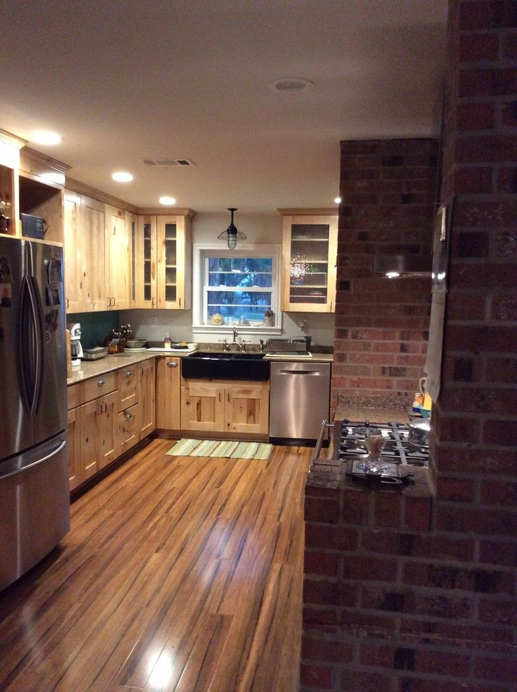 Lowes Lufkin Tx for a Rustic Kitchen with a Holbrook Rustic Maple and Schuler Holbrook Rustic Maple by Lowe's of Lufkin, Tx/ Kevin Holman