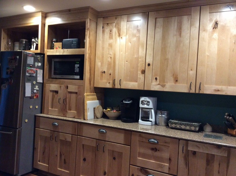 Lowes Lufkin Tx for a Rustic Kitchen with a Rustic and Schuler Holbrook Rustic Maple by Lowe's of Lufkin, Tx/ Kevin Holman